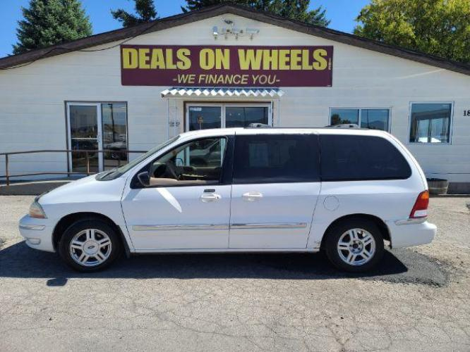 2003 Ford Windstar SE (2FMZA52423B) with an 3.8L V6 OHV 12V engine, 4-Speed Automatic transmission, located at 1800 West Broadway, Missoula, MT, 59808, (406) 543-1986, 46.881344, -114.021065 - Photo #0