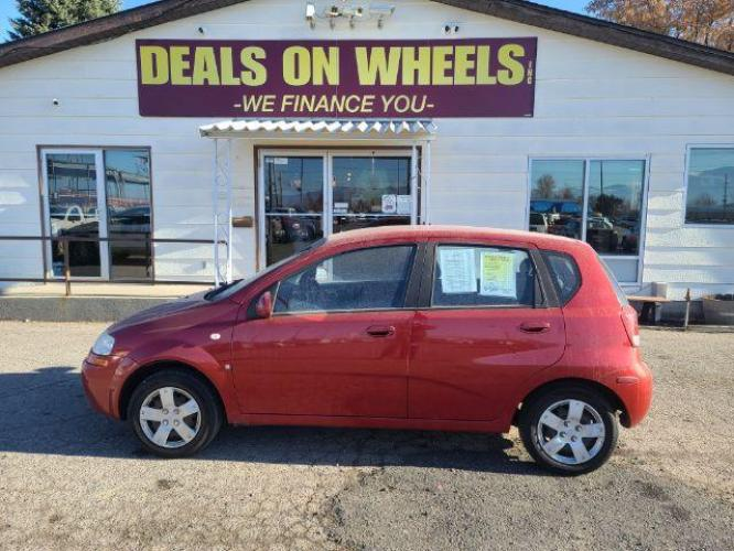 2008 Chevrolet Aveo5 LS (KL1TD66698B) with an 1.6L L4 DOHC 16V engine, located at 1800 West Broadway, Missoula, MT, 59808, (406) 543-1986, 46.881344, -114.021065 - Photo #0