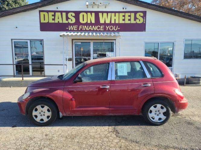 2006 RED CHRYSLER PT CRUISER Base (3A4FY48B26T) , located at 1800 West Broadway, Missoula, MT, 59808, (406) 543-1986, 46.881344, -114.021065 - Photo #0