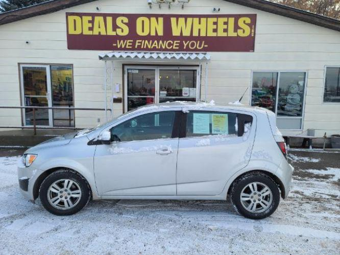 2012 Chevrolet Sonic 2LT 5-Door (1G1JC6SH6C4) with an 1.8L L4 DOHC 24V engine, 6-Speed Automatic transmission, located at 1800 West Broadway, Missoula, MT, 59808, (406) 543-1986, 46.881344, -114.021065 - Photo #0
