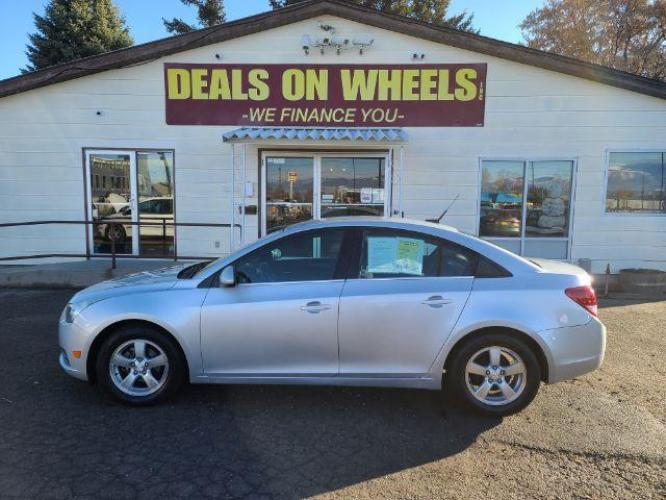 2014 Chevrolet Cruze 1LT Auto (1G1PC5SB7E7) with an 1.4L L4 DOHC 16V TURBO engine, 6-Speed Automatic transmission, located at 1800 West Broadway, Missoula, MT, 59808, (406) 543-1986, 46.881344, -114.021065 - Photo #0