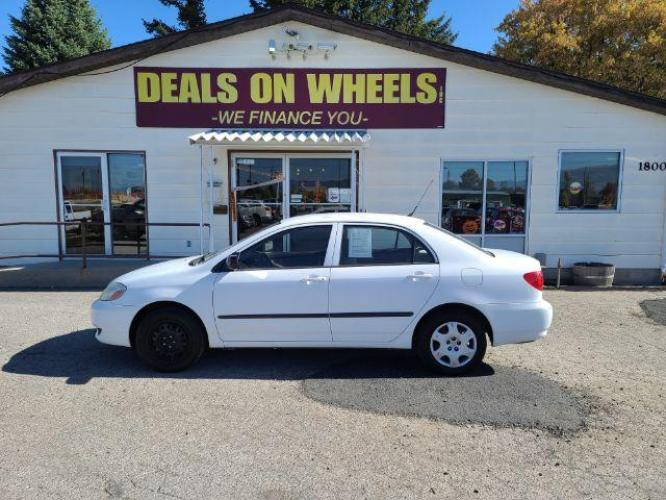 2003 Toyota Corolla CE (1NXBR32E83Z) with an 1.8L L4 DOHC 16V engine, located at 1800 West Broadway, Missoula, MT, 59808, (406) 543-1986, 46.881344, -114.021065 - Photo #0