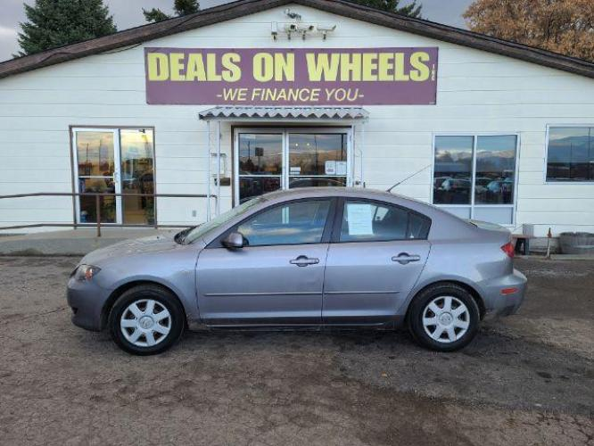 2006 Mazda MAZDA3 i 4-door (JM1BK12FX61) with an 2.0L L4 DOHC 16V engine, located at 1800 West Broadway, Missoula, MT, 59808, (406) 543-1986, 46.881344, -114.021065 - Photo #0