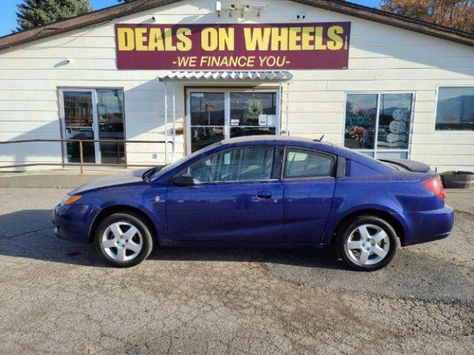 2006 Saturn ION Quad Coupe 2 w/Auto (1G8AN15F06Z) with an 2.2L L4 DOHC 16V engine, 4-Speed Automatic transmission, located at 1800 West Broadway, Missoula, MT, 59808, (406) 543-1986, 46.881344, -114.021065 - Photo #0