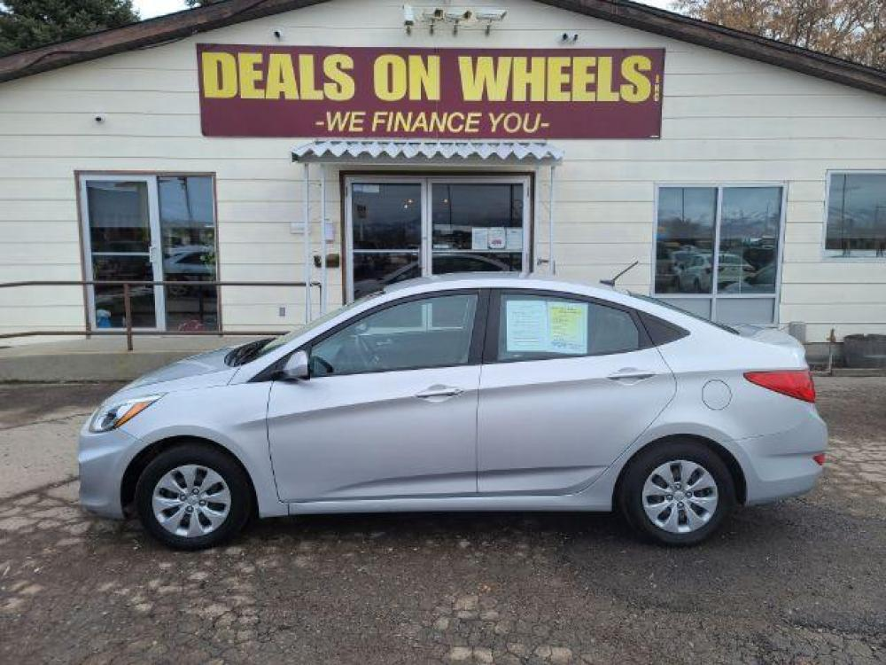 2017 Hyundai Accent SE 4-Door 6A (KMHCT4AE8HU) with an 1.6L L4 DOHC 16V engine, 6-Speed Automatic transmission, located at 1800 West Broadway, Missoula, MT, 59808, (406) 543-1986, 46.881344, -114.021065 - Photo #0