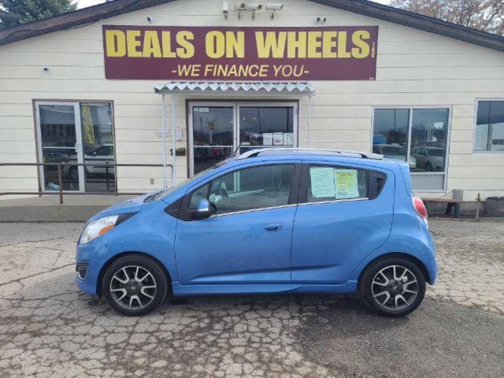 2014 Chevrolet Spark 2LT Auto (KL8CF6S94EC) with an 1.2L L4 16V DOHC engine, Continuously Variable Transmission transmission, located at 1800 West Broadway, Missoula, MT, 59808, (406) 543-1986, 46.881344, -114.021065 - Photo #0