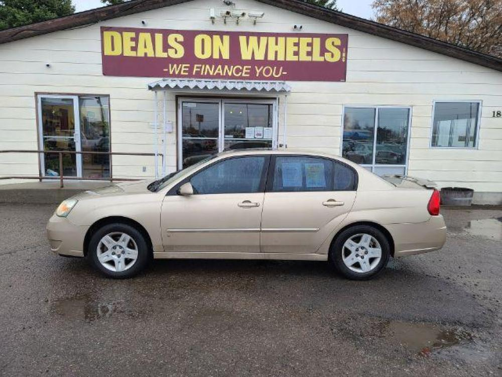 2006 Chevrolet Malibu LT (1G1ZT53856F) with an 3.5L V6 OHV 12V engine, 4-Speed Automatic transmission, located at 1800 West Broadway, Missoula, MT, 59808, (406) 543-1986, 46.881344, -114.021065 - Photo #0